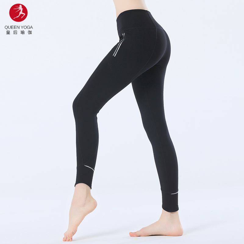 3fb4c0a05f1a5 Custom Women Gym Workout Yoga Pants Sexy Fitness Wear High Waist Sports  Leggings