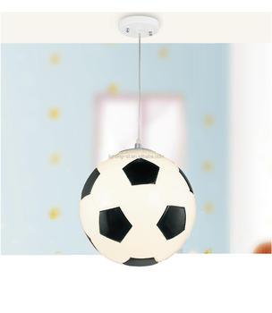Moderne Glazen Voetbal Kid\' S Slaapkamer Hanglamp Voor Kinderen ...
