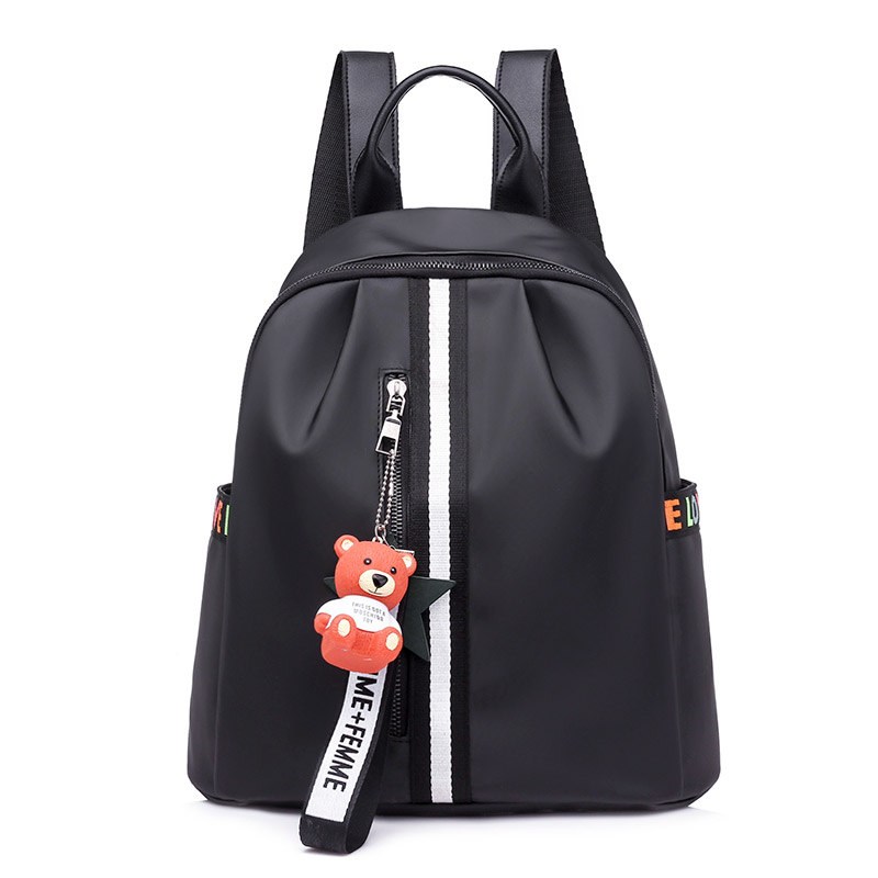 ee8eb9dfd Moda mochila mulheres nylon sacos de escola para adolescentes meninas  prático e funcional de viagem mochila