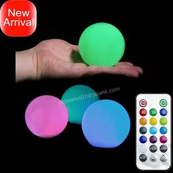 Led Ball 8cm RGB Light, Pool Table LED Light