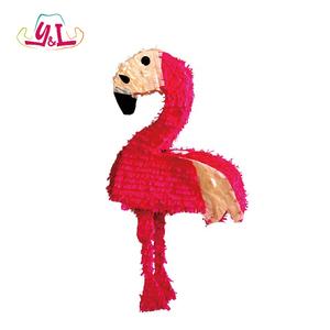 Hawaii Party Hot Pink Flamingo Pinata