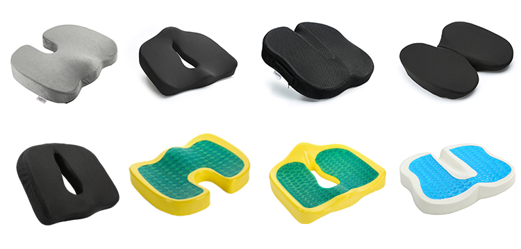 Prostate Protection Seat Cushion Pollution-Free Cushion Unique Design Memory Foam Seat Cushion