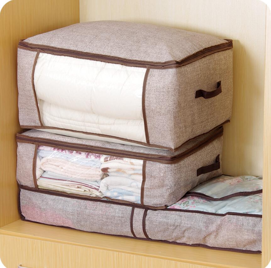 Remodelaholic | 5 Easy Ways to Store Blankets |Storing Comforters