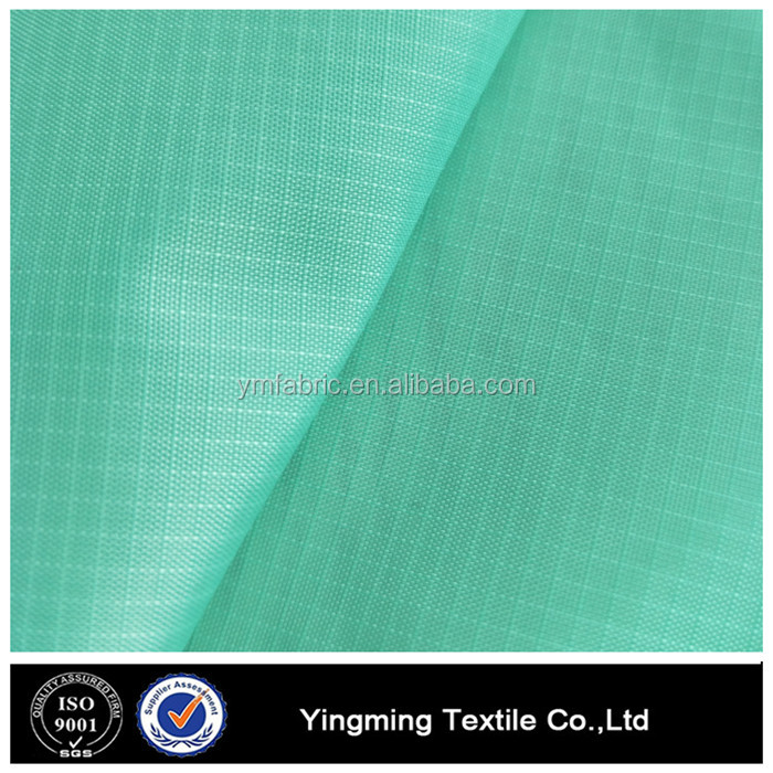 0.2mm Mint Green ripstop nylon fabric