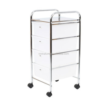 12 Drawer Rolling Storage Cart