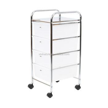 12 Drawer Rolling Storage Cart