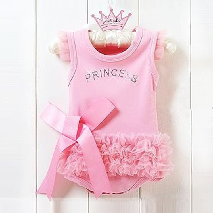 9259aa01de9 Get Quotations · 2015 hot summer style girl newborn pink bowknot baby  rompers suit infant rompers baby children s clothing