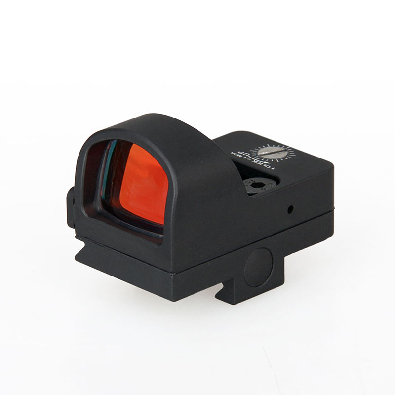 professional manufacturer high quality tactical airsoft mini 20mm weaver red dot scope red dot sight