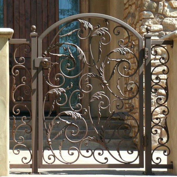 Perfect Wrought Iron Swing Gates, Wrought Iron Swing Gates Suppliers And  Manufacturers At Alibaba.com