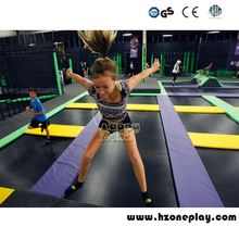 Fire proof Colorful Polyurethane Cube Foam Pit Blocks for Children's Large Indoor Trampoline Park