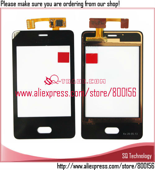 Mobile Phone Spare Parts For Nokia Asha 501 Touch Screen Digitizer ...