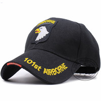 Military US ARMY Air Force Baseball caps Embroidered 101ST AIRBORNE DIVISION SCREAMING EAGLES Cap tactical snapback hats STOCK