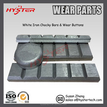 700HB white iron wear chocky bars/blocks
