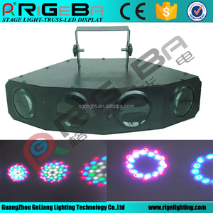 Hot selling 224LEDS Four Heads Effect Light