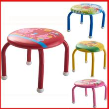 High quality baby leather step stool Fashion design cartoon baby step stool