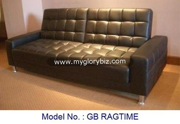 Cheap Two Seater Leather Sofa Bed Black Colour Furniture For Living Room In  Latest Modern Designs And Good Quality - Buy Sofa Bed,Leather Sofa,Black ...