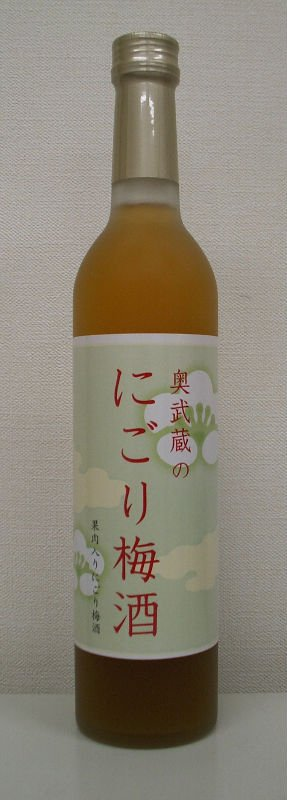 Plum wine with plum puree (Nigori Umeshu) 500ml