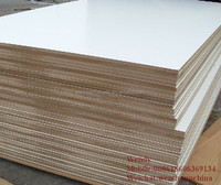 White Melamine Laminated Mdf Board Prices