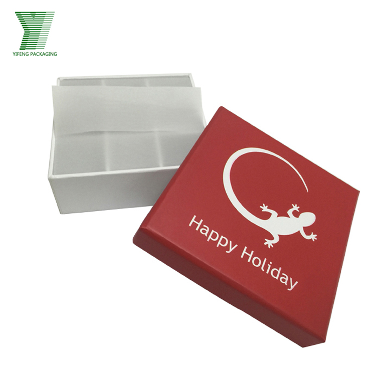 Hot selling coated paper rigid chocolate packaging gift box empty chocolate truffle boxes