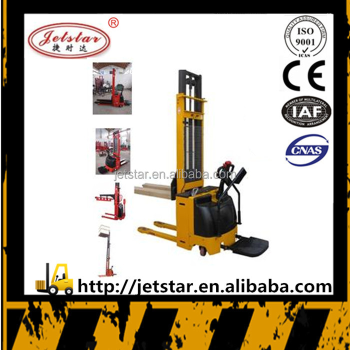 High quality battery operated charger double mast forklift