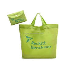 reusable waterproof recyclable eco grocery foldable shopping bag