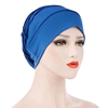 Middle East Style 9 Colors Ladies Muslim Milk Silk Hijab Hat Islam Turban