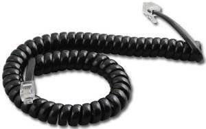 Panasonic DBS 9 Ft. Black Handset Cord For VB-4000 Series Phones In Factory Sealed Bag