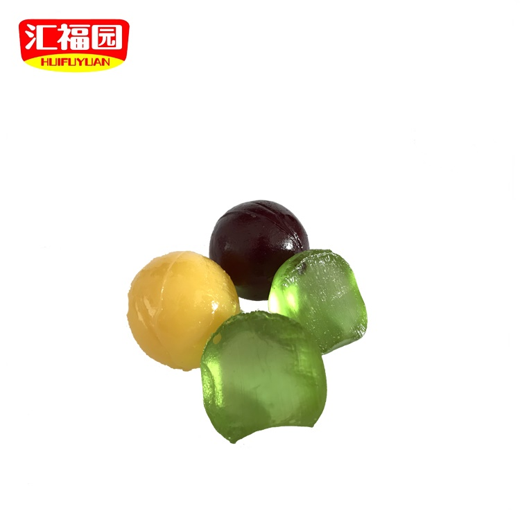 Ball shaped softy fruit flavor american candy