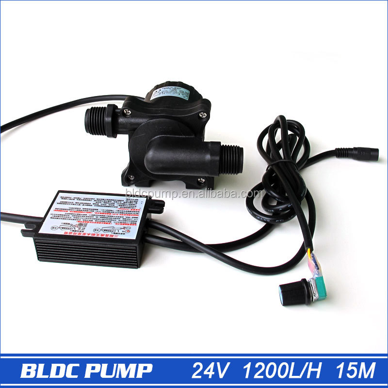 5-24V Brushless DC Pump 50F-24150A, 1pcs 1560LPH 15M, with Speed Controller, Suitable for Solar Power SYS and Hot <strong>Water</strong>