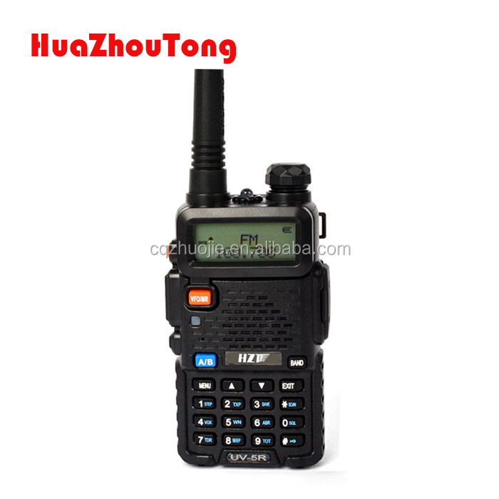 Venda quente UV-5R UHF 400-520 MHz e VHF 136-174 MHz dual band Walkie Talkie