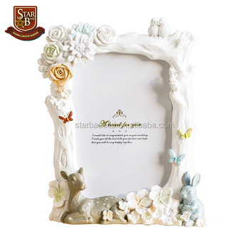 Factory Custom Made Handmade Beautiful Resin Picture Photo Frame ...