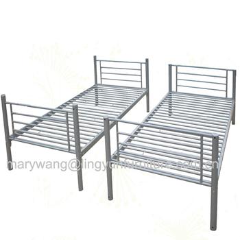 Metal Prison Double Bed Decker Frame