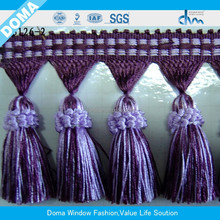 Newly designed handmade curtain tassel,trim fringe for curtain,tassel fringes for dress,curtain