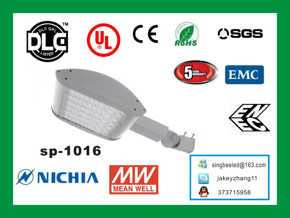 solar power energy wall mounted out door DLC premium lighting with 5 years Warranty LM79 CE ENEC ErP cUL UL DLC Street Light