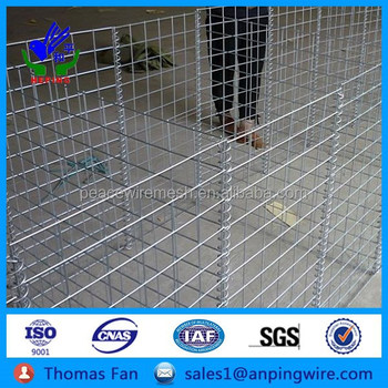 China Supplier Mental Fences Galvanized Wire Gabion Baskets,Welded ...