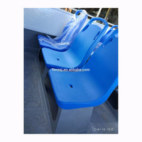 Plastic boat passenger seat for fast ferry