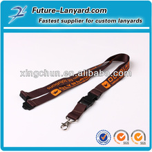 lanyard machine make the high quality lanyards with the detachable buckle