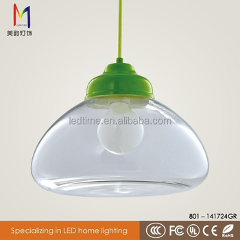 murano glass chandelier green glass lamp shade with ce rohs for home hotel coffe