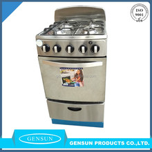 122th canton fair hotsale free standing home gas range cooker oven
