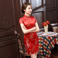 new and improved daily retro fashion socialite dress cheongsam