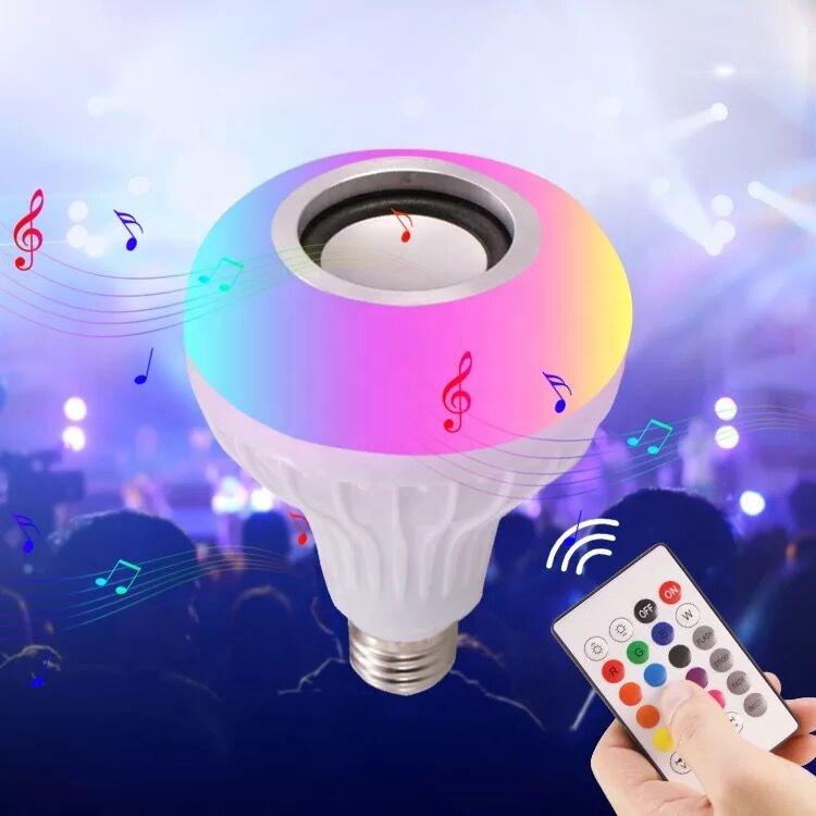 ホット製品ワイヤレス Bluetooth RGB スマート音楽 LED 電球スピーカー