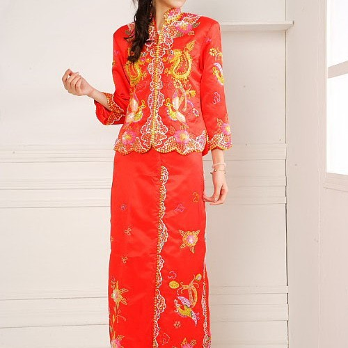 Fast sample making wholesale chinese dress