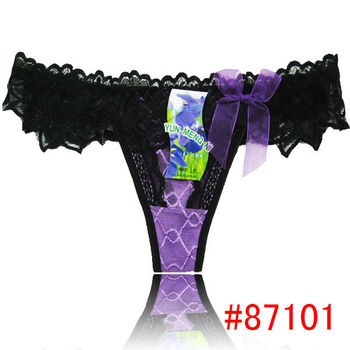 2084390f30c Hot Sale Lace Girl's T-back,G-strimg,Thong Sexy Panties Cheap Lace ...