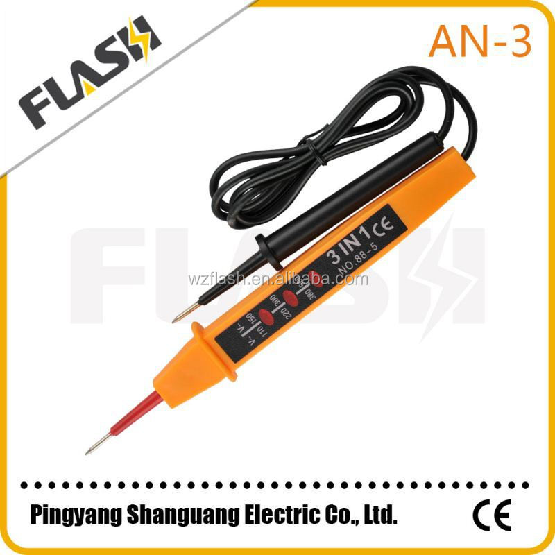 China professinal LED electric voltage circuit tester pen