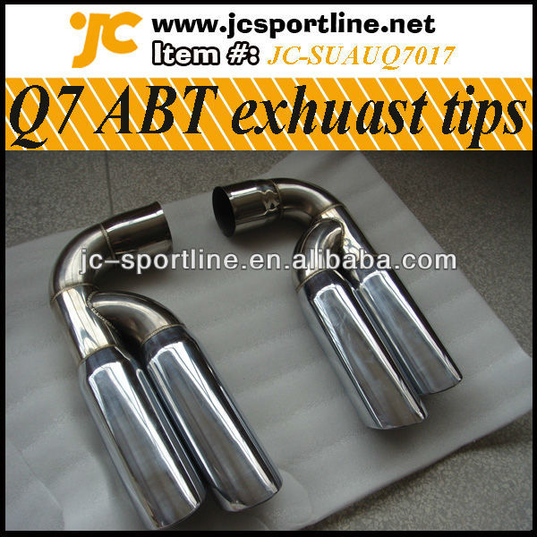 Stainless Steel Q7 Exhaust Tips Pipe for AUDI Q7