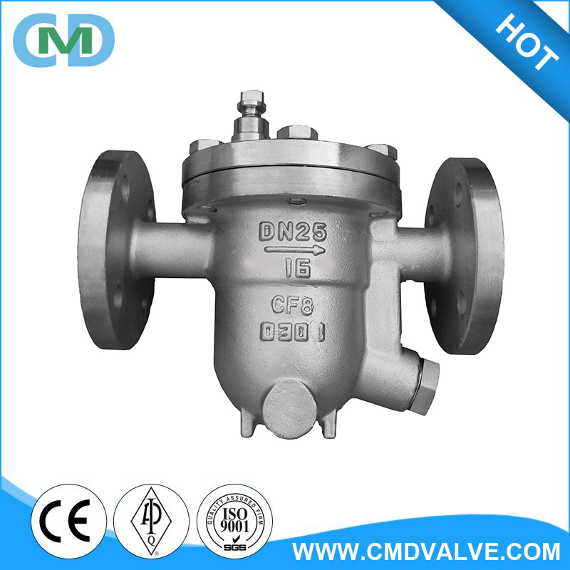 CF8 CF8M DN25 PN16 Free Floating Ball Type Steam Trap with Price