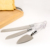 3 pieces Stainless steel cake server and knife set wedding use