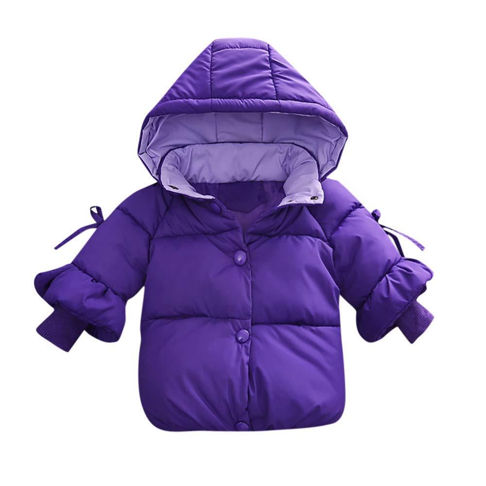 Anxinke Toddlers Little Kids Winter Warm Double Button Outerwear