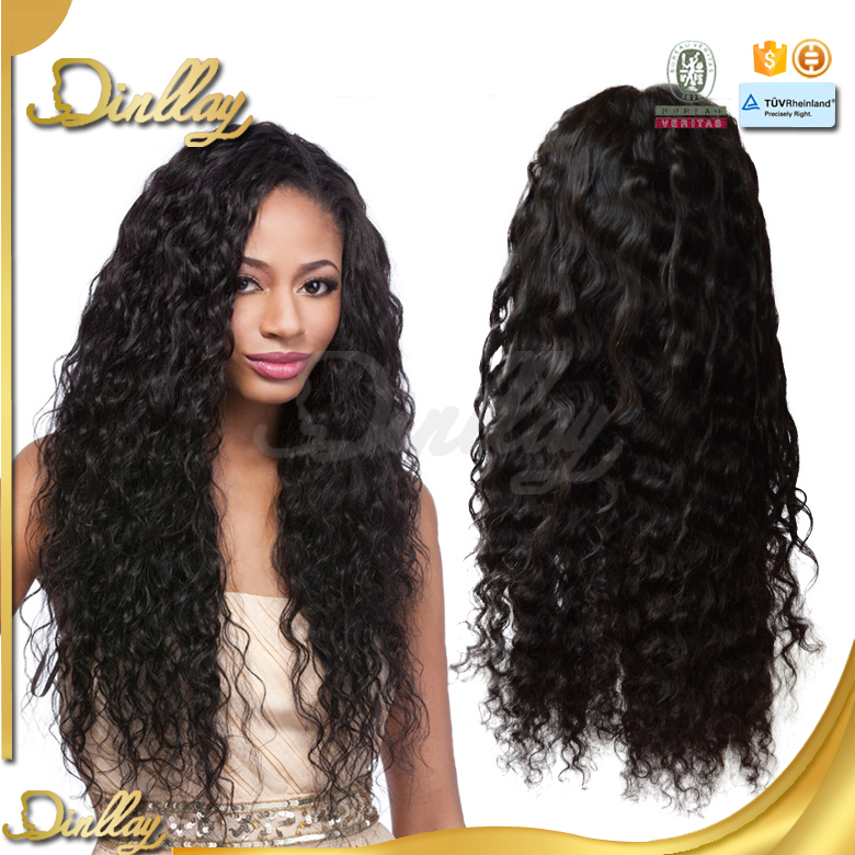 Hot!!! large stock factory price 100% virgin large african american wigs
