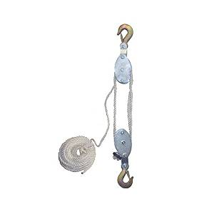 Grip 18095 2-Ton Rope Pulley Hoist by Grip